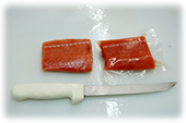 [Salmon fillet package]