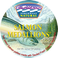[Salmon medallions: single/double package]
